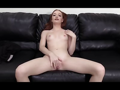 anal on first casting for 19 yrs old redhead