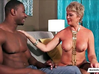 Interracial BBC Fucks Super-fucking-hot Mature