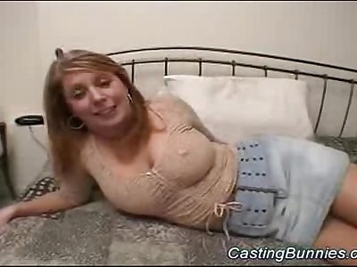 her first buttfuck audition
