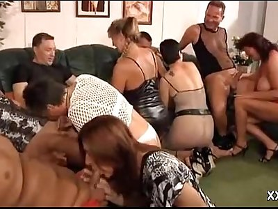 GRANNY Personal PARTY MILF ORGY