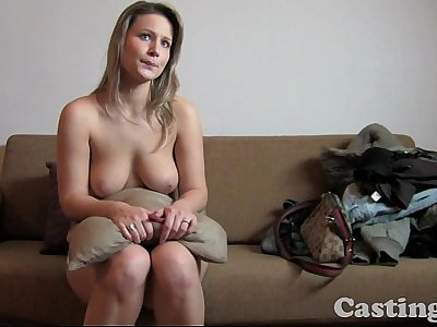 Audition HD Fit blonde heads all the way in casting