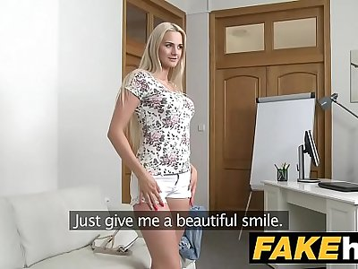 Fake Agent - Blondie Beauty in Audition Couch fuck