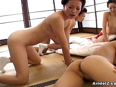 Japaneses with big boobs and melons fucked uncensored japanese video