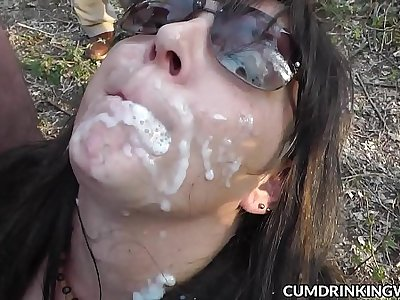 Steamy wife cum drenched and creampied by hundreds of guys