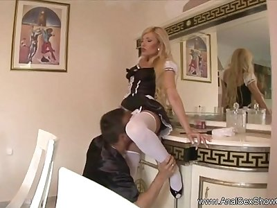Intense Anal invasion For Horny MILF