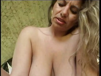 Horny blonde cougar wants a youthfull cock for herself!