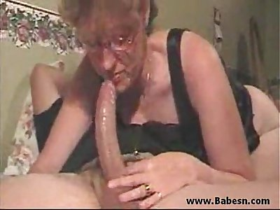 Mom suck my cock at morning