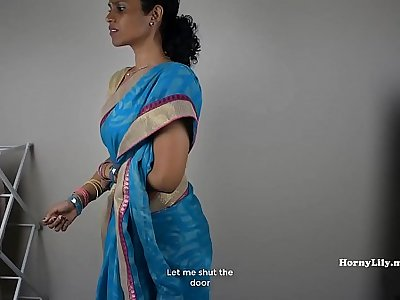 South Indian Mummy Lets Her Son-in-law Jerk Off Then Fuck Her (Tamil)