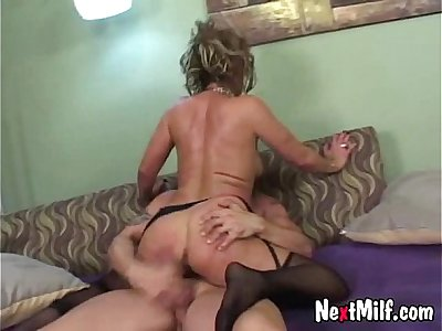 55yo experienced wife and her new boy