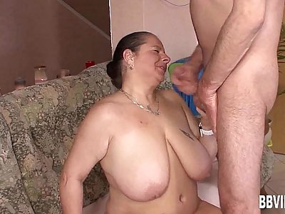 Buxomy german milf gets fucked