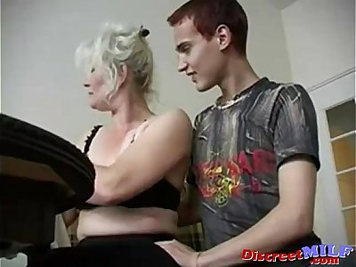 sexy granny Lena and Ivan