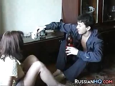 Russian Cougar Fucked By A Young Dude