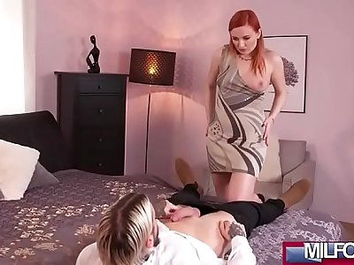 Russian MILF gags on English cock(Eva Berger) 02 clip-16